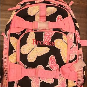 Pottery Barn Kids Butterfly Backpack